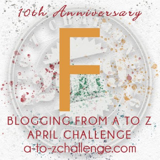 F is for Friends and Family on the April A to Z Blogging Challenge