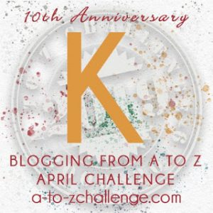 Karyotype on the A to Z Blogging Challenge on The Road We've Shared