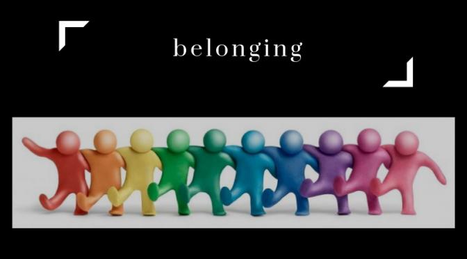 April A to Z Blogging Challenge: Belonging